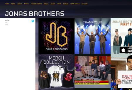 jonasbrothers.com Kevin