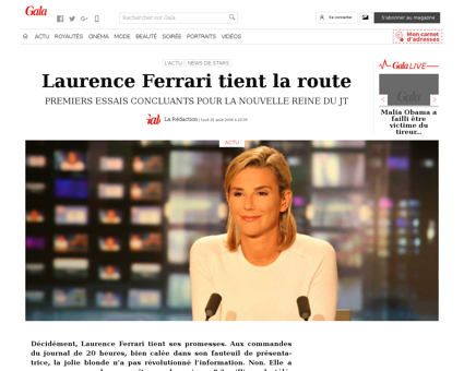 Laurence FERRARI