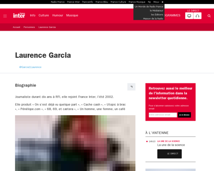 Personne laurence garcia Laurence