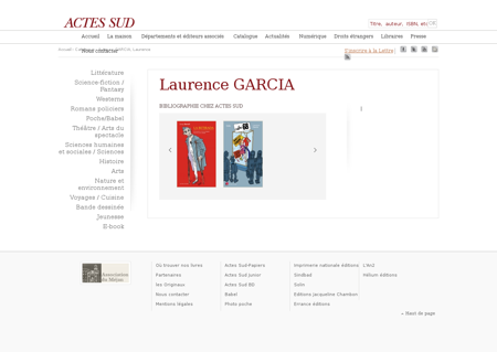 Garcia laurence 0 Laurence