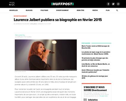 Laurence jalbert biographie n 5688700 Laurence