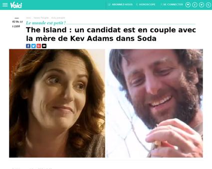 The island un candidat est en couple ave Laurence