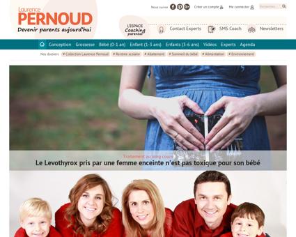 laurencepernoud.com Laurence
