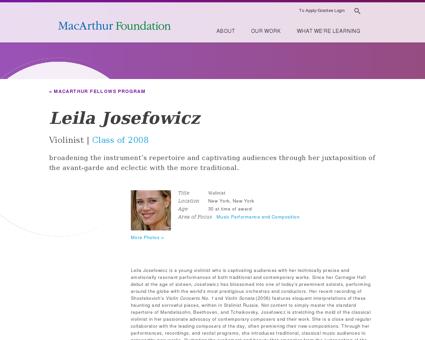 Leila Josefowicz Leila