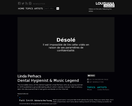 Linda perhacs dental hygienist music leg Linda