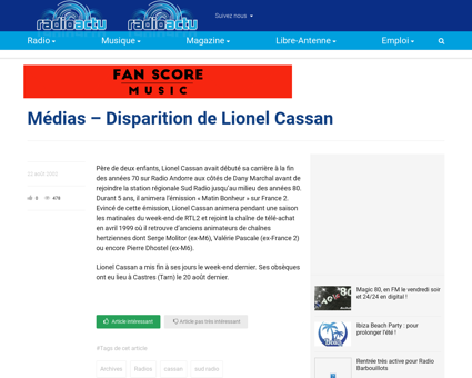 Lionel CASSAN