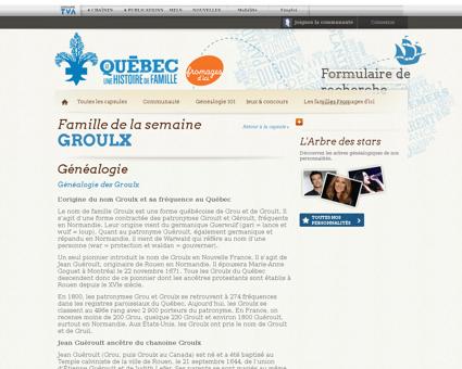 Genealogie Lionel