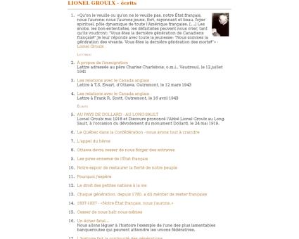 Index Lionel