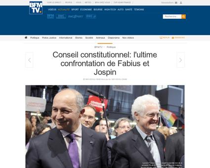 Conseil constitutionnel l ultime confron Lionel