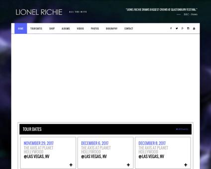 lionelrichie.com Lionel