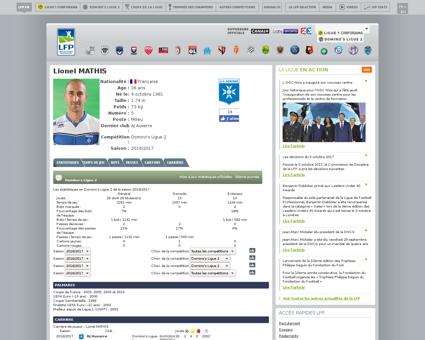 Football.joueurs.lionel.mathis.51.fr Lionel