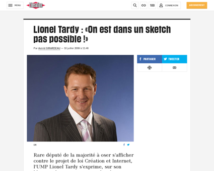 Lionel TARDY
