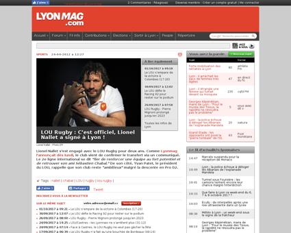 Lou rugby c est officiel lionel nallet a Lionel