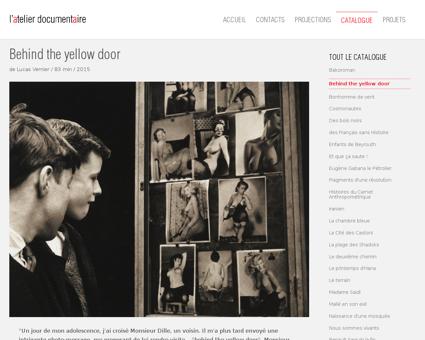 Behind the yellow door Lou