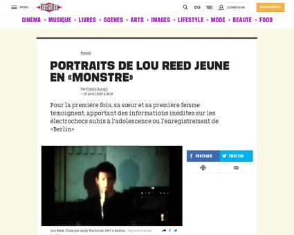 Lou reed Lou