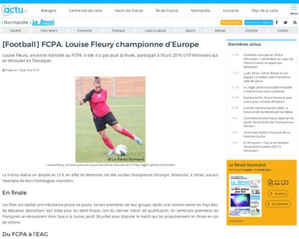 Louise FLEURY