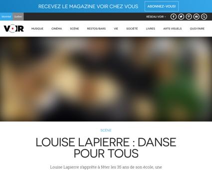 Louise LAPIERRE