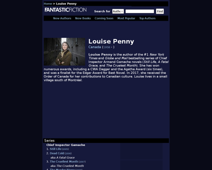 Louise penny Louise