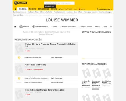 Palmares Louise