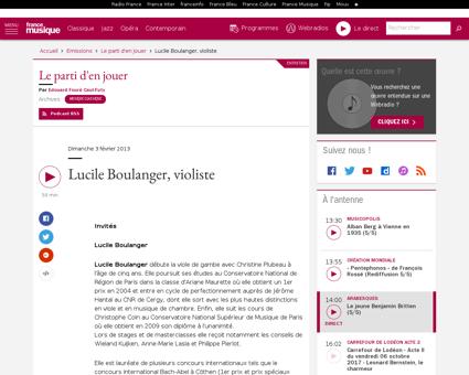 Lucile BOULANGER