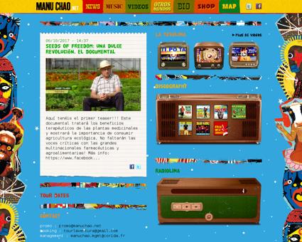 manuchao.net Manu