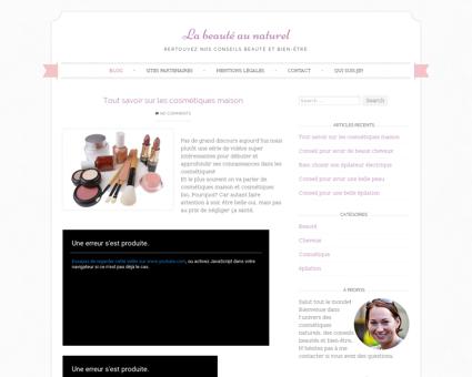 cosmetique naturel evanel.com Manu