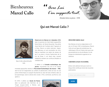 Qui est marcel callo Marcel