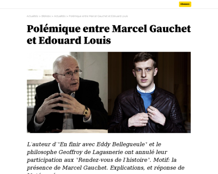 Marcel GAUCHET