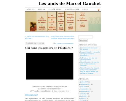 marcelgauchet.fr Marcel