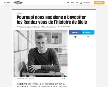 Pourquoi nous appelons a boycotter les r Marcel