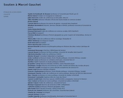 COLLECTIF Marcel