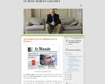 Gauchet.blogspot.com Marcel