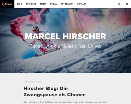 marcelhirscher.at Marcel