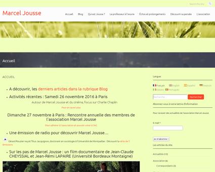 Marceljousse.com Marcel