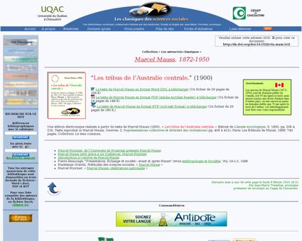 Tribus australie centrale Marcel