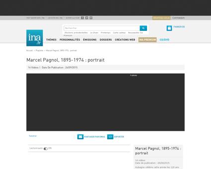 Marcel pagnol 1895 1974 portrait playlis Marcel