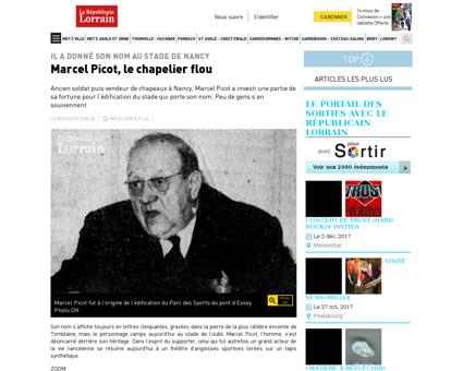 Marcel picot le chapelier flou Marcel