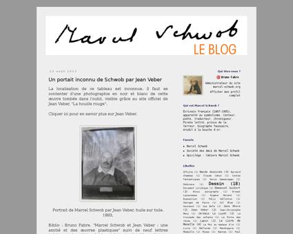 Leblogmarcelschwob.blogspot.fr Marcel