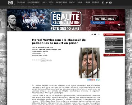 Marcel Vervloesem le chasseur de pedophi Marcel