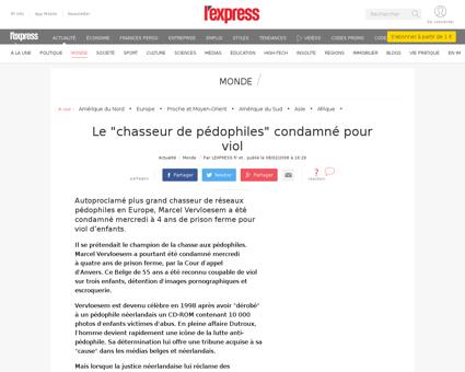 Le chasseur de pedophiles condamne pour  Marcel
