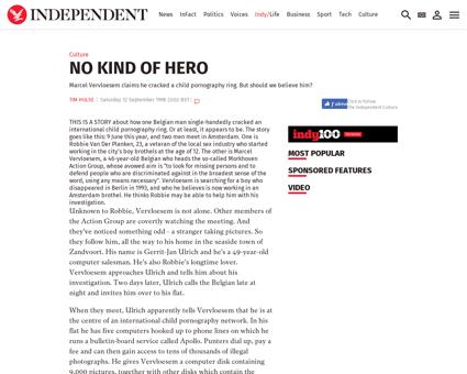 No kind of hero 1197939 Marcel