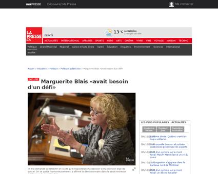 Marguerite BLAIS