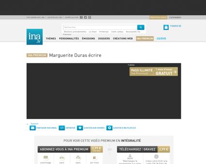 Marguerite duras ecrire.fr Marguerite
