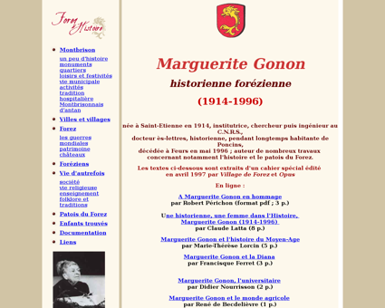 Marguerite gonon Marguerite