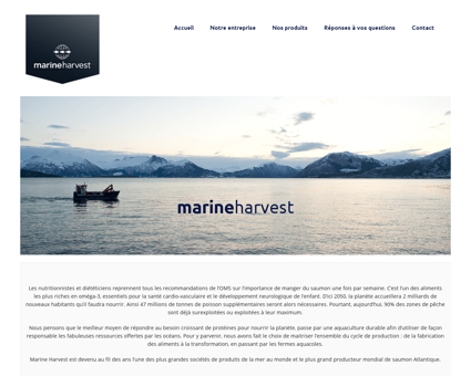 marineharvest.fr Marine