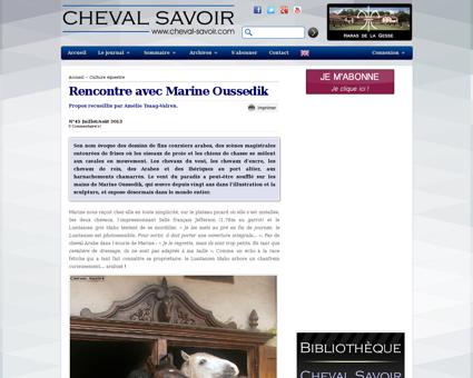 1435 interview rencontre marine oussedik Marine
