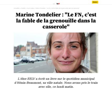 Marine TONDELIER