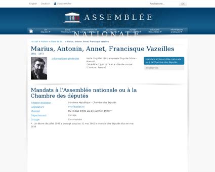 mariusvazeilles.fr Marius