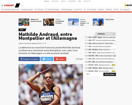 Mathilde ANDRAUD
