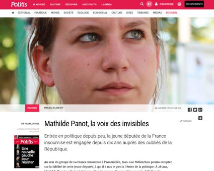 Mathilde panot la voix des invisibles 37 Mathilde